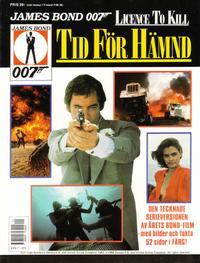 Cover Thumbnail for James Bond [album] (Semic, 1983 series) #[1989] - Tid för hämnd