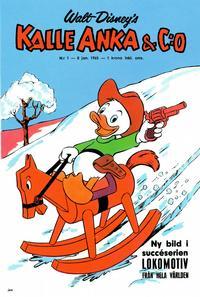 Cover Thumbnail for Kalle Anka & C:o (Hemmets Journal, 1957 series) #1/1965