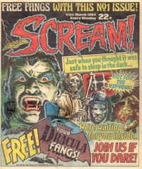 Cover Thumbnail for Scream! (IPC, 1984 series) #1