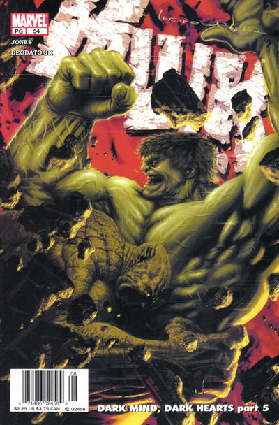 Cover for Incredible Hulk (Marvel, 2000 series) #54 [Direct]
