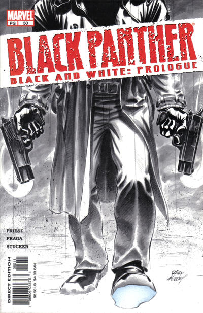 Cover for Black Panther (Marvel, 1998 series) #50