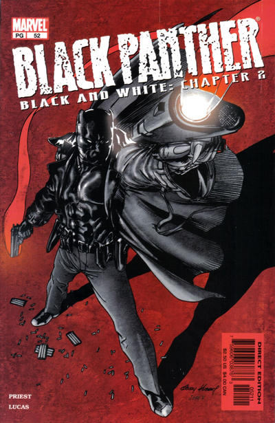 Cover for Black Panther (Marvel, 1998 series) #52