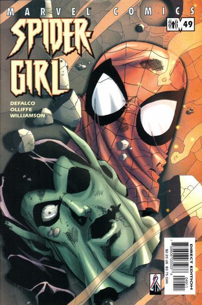 Cover for Spider-Girl (Marvel, 1998 series) #49