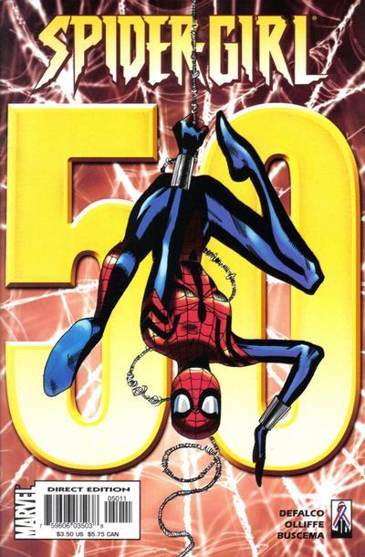 Cover for Spider-Girl (Marvel, 1998 series) #50
