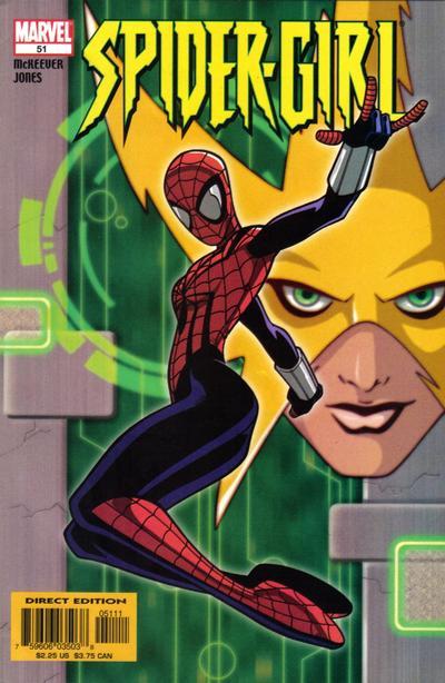 Cover for Spider-Girl (Marvel, 1998 series) #51