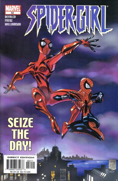 Cover for Spider-Girl (Marvel, 1998 series) #52