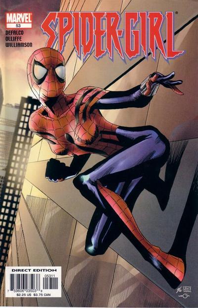 Cover for Spider-Girl (Marvel, 1998 series) #53