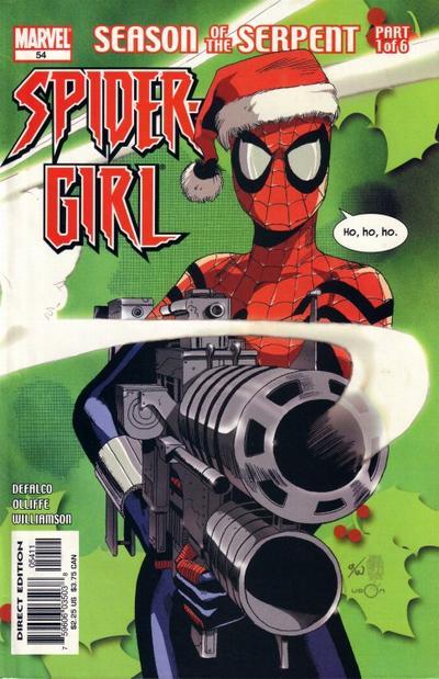 Cover for Spider-Girl (Marvel, 1998 series) #54