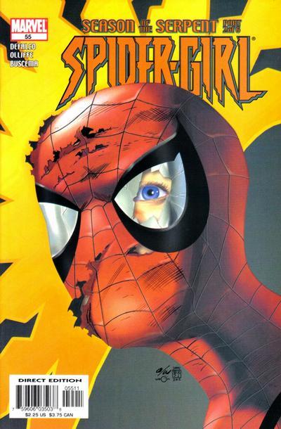 Cover for Spider-Girl (Marvel, 1998 series) #55