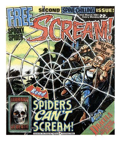 Cover for Scream! (IPC, 1984 series) #2