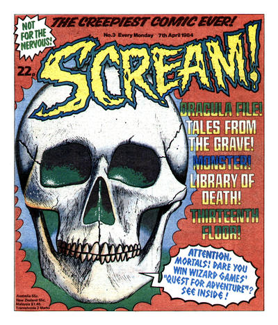 Cover for Scream! (IPC, 1984 series) #3