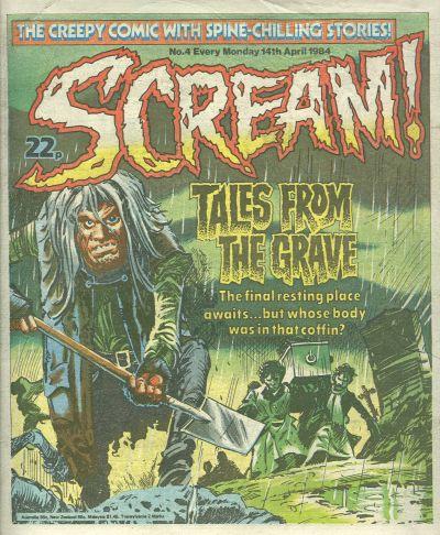 Cover for Scream! (IPC, 1984 series) #4