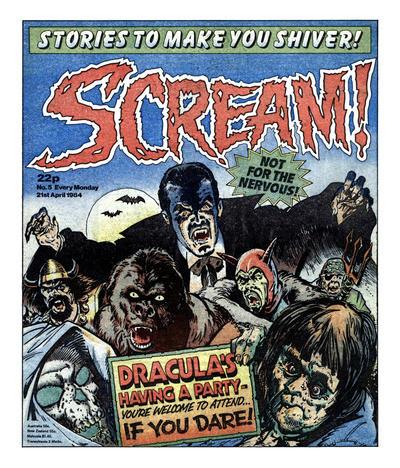 Cover for Scream! (IPC, 1984 series) #5