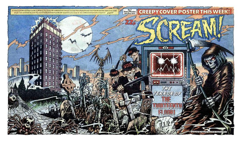Cover for Scream! (IPC, 1984 series) #7