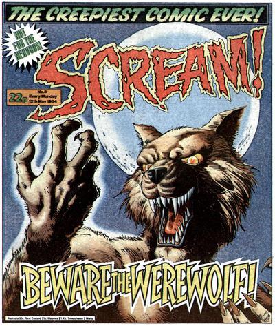 Cover for Scream! (IPC, 1984 series) #8