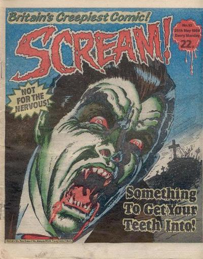 Cover for Scream! (IPC, 1984 series) #10