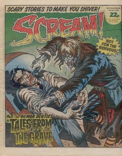 Cover for Scream! (IPC, 1984 series) #11