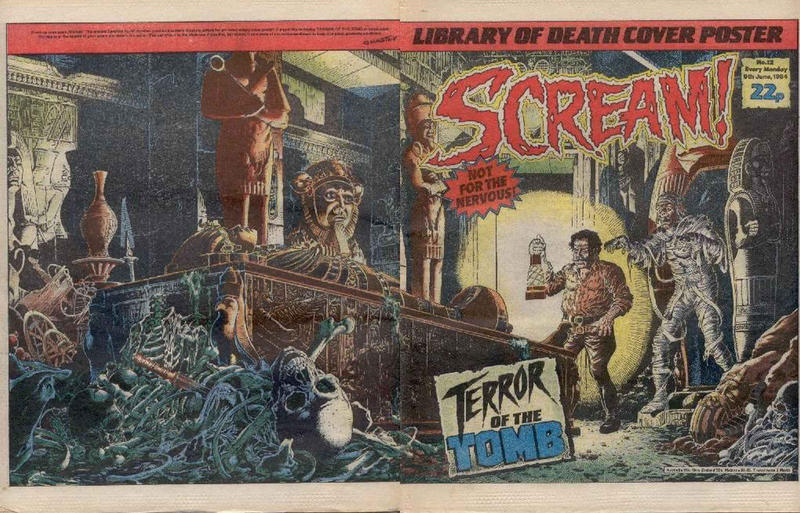 Cover for Scream! (IPC, 1984 series) #12