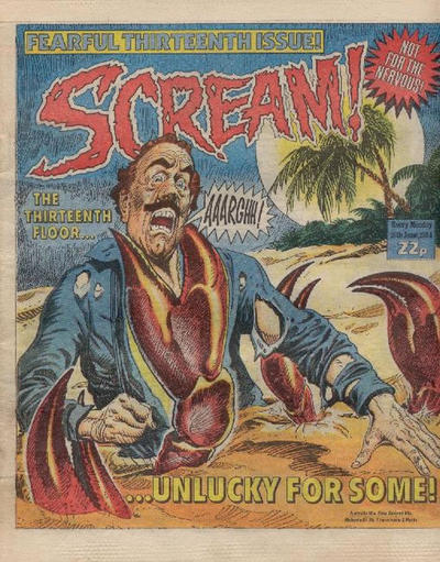 Cover for Scream! (IPC, 1984 series) #13