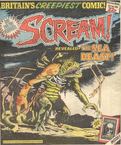 Cover for Scream! (IPC, 1984 series) #14