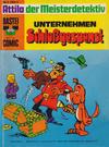 Cover for Bastei-Comic (Bastei Verlag, 1972 series) #3 - Attila der Meisterdetektiv: Unternehmen Schloßgespenst