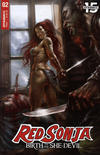 Cover Thumbnail for Red Sonja: Birth of the She-Devil (2019 series) #2