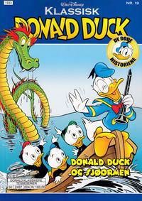 Cover Thumbnail for Klassisk Donald Duck (Hjemmet / Egmont, 2016 series) #19 - Donald Duck og sjøormen