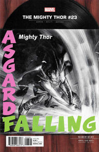 Cover Thumbnail for Mighty Thor (Marvel, 2016 series) #23 [Marco Rudy Rock and Roll]