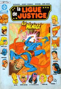 Cover Thumbnail for La Ligue de Justice (Arédit-Artima, 1985 series) #4
