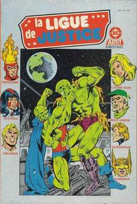 Cover Thumbnail for La Ligue de Justice (Arédit-Artima, 1985 series) #10