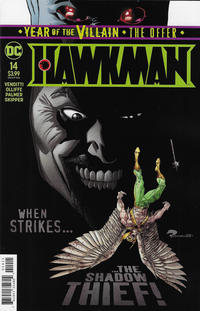 Cover Thumbnail for Hawkman (DC, 2018 series) #14 [Roger Robinson Cover]