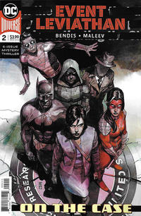 Cover Thumbnail for Event Leviathan (DC, 2019 series) #2 [Alex Maleev Cover]