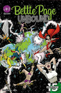 Cover Thumbnail for Bettie Page Unbound (Dynamite Entertainment, 2019 series) #2 [Cover B Scott Chantler]