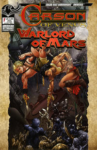 Cover Thumbnail for Edgar Rice Burroughs Carson of Venus / Warlord of Mars (American Mythology Productions, 2019 series) #1 [Main Cover]
