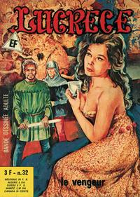 Cover Thumbnail for Lucrece (Elvifrance, 1972 series) #32
