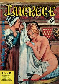 Cover Thumbnail for Lucrece (Elvifrance, 1972 series) #33