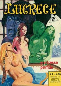 Cover Thumbnail for Lucrece (Elvifrance, 1972 series) #45