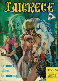 Cover Thumbnail for Lucrece (Elvifrance, 1972 series) #54