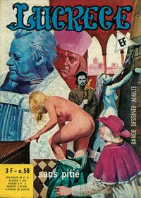 Cover Thumbnail for Lucrece (Elvifrance, 1972 series) #58