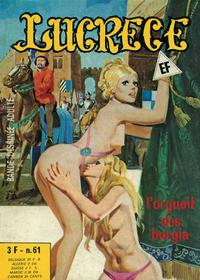 Cover Thumbnail for Lucrece (Elvifrance, 1972 series) #61