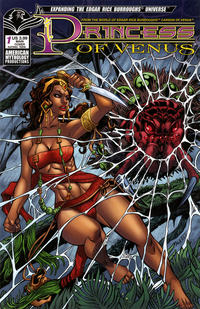 Cover Thumbnail for Edgar Rice Burroughs Princess of Venus (American Mythology Productions, 2019 series) #1 [Main Cover]