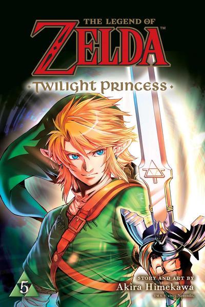 Cover for The Legend of Zelda: Twilight Princess (Viz, 2017 series) #5