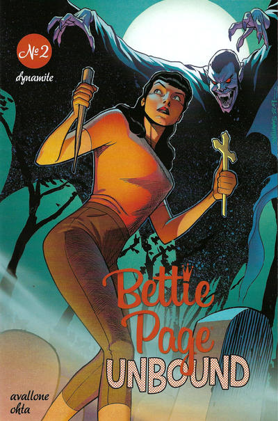Cover for Bettie Page Unbound (Dynamite Entertainment, 2019 series) #2 [Cover D Julius Ohta]
