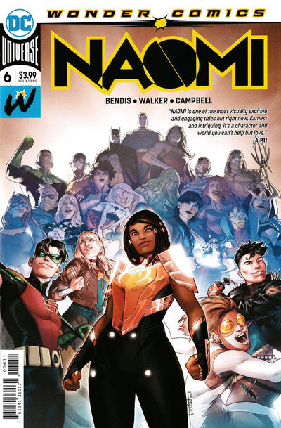 Cover for Naomi (DC, 2019 series) #6