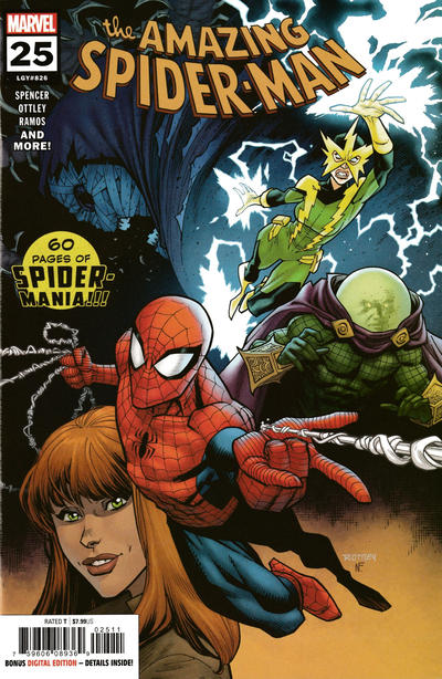 Cover for Amazing Spider-Man (Marvel, 2018 series) #25 (826) [Regular Edition - Ryan Ottley Cover]