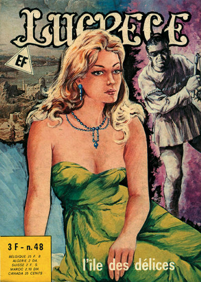 Cover for Lucrece (Elvifrance, 1972 series) #48