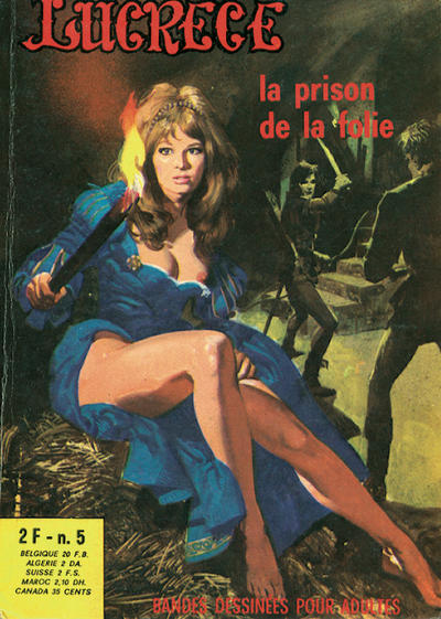 Cover for Lucrece (Elvifrance, 1972 series) #5