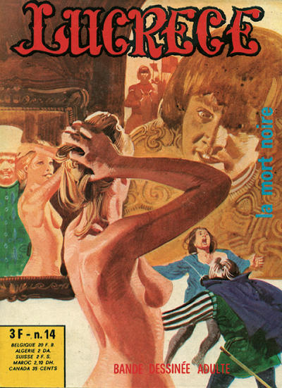 Cover for Lucrece (Elvifrance, 1972 series) #14