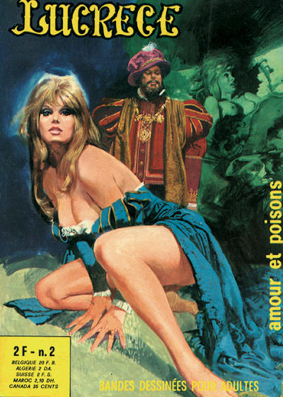 Cover for Lucrece (Elvifrance, 1972 series) #2