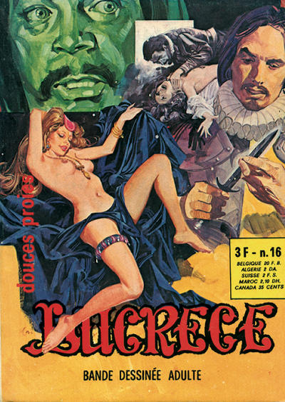 Cover for Lucrece (Elvifrance, 1972 series) #16